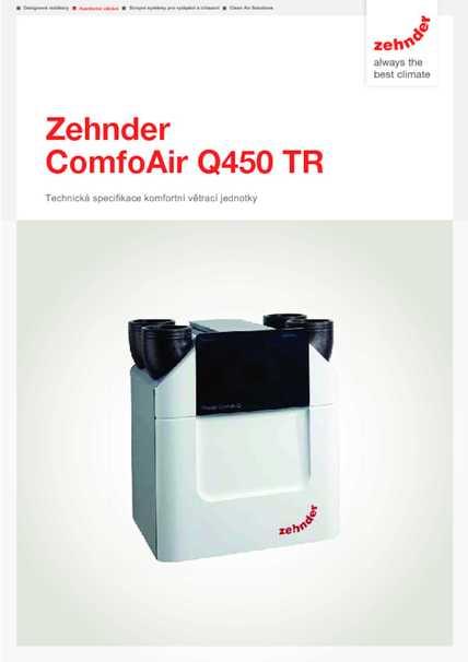 Tech. parametre CA Q450