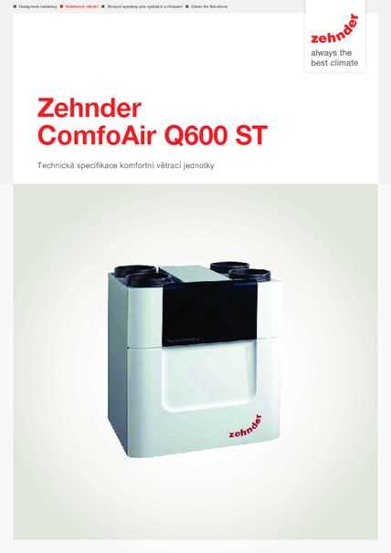 Tech. parametre CA Q600