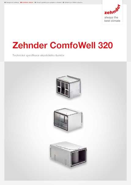 Tech. parametre ComfoWell 320