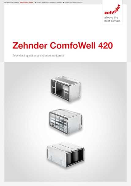 Tech. parametre ComfoWell 420