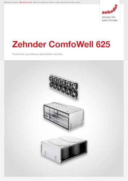 Tech. parametre ComfoWell 620